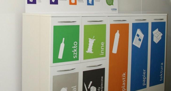 Stena Recycling: Gospodarka odpadowa w biurowcach