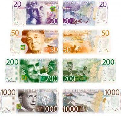 Nowe banknoty w Szwecji